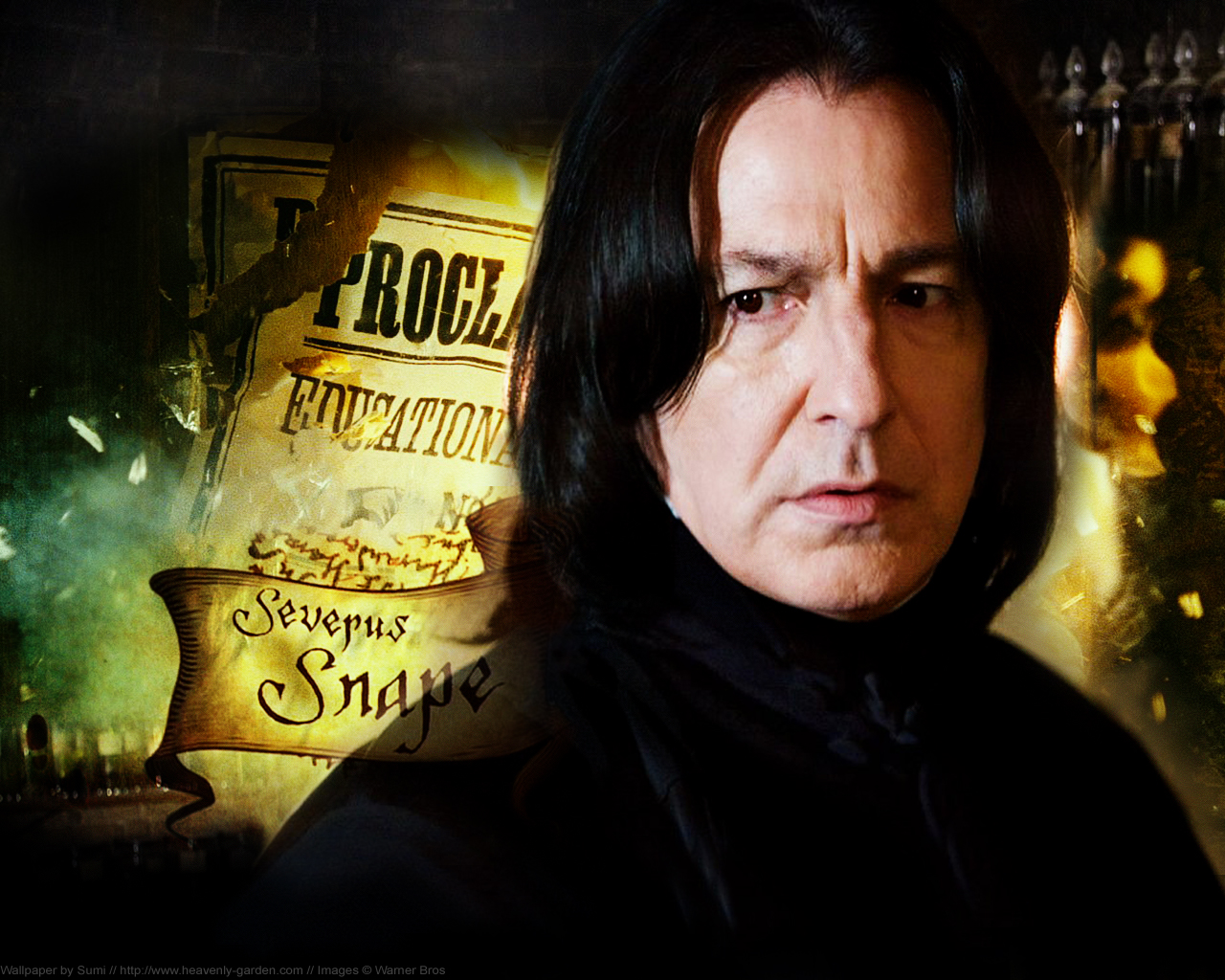 house clear join slytherin snape died oops snape as head of slytherin
