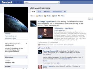 Astrology Expressed on Facebook