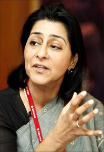 Naina Lal Kidwai: Group General Manager and Country Head, HSBC, India
